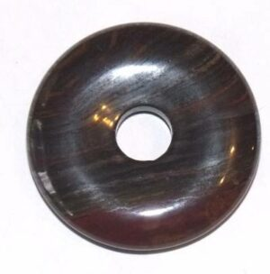 pendentif donut pi chinois oeil de fer