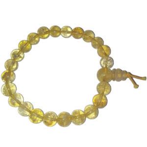 bracelet citrine mala